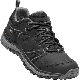 Keen Terradora Leather WP Shoes Dame black/steel grey
